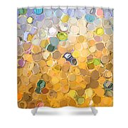 Marble Collection I Abstract Shower Curtain