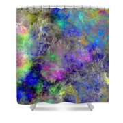 Marbled Clouds Shower Curtain