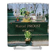 Proust Shower Curtain