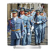Marching Guards Shower Curtain