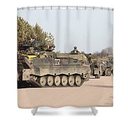 Marder Infantry Fighting Vehicles Shower Curtain