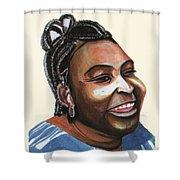 Mariama Ba Shower Curtain
