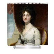 Marianne Ashley Walker Shower Curtain