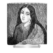 Marie Duplessis Shower Curtain