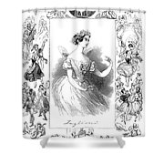 Marie Taglioni (1804-1884) Shower Curtain