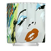 Marilyn In Hollywood Shower Curtain