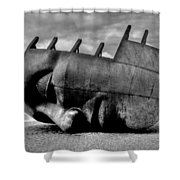 Maritime Memorial Cardiff Bay Shower Curtain