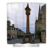 Market Cross - Stow-on-the-wold Shower Curtain
