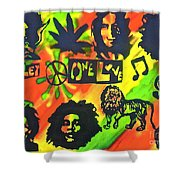Marley Forever Shower Curtain