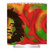 Marley Love Shower Curtain