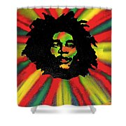 Marley Starburst Shower Curtain