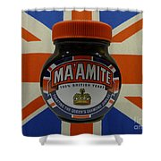 Marmite The Growing Up Spread Shower Curtain