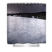 Marmora Mine Shower Curtain