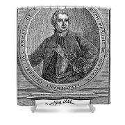 Marquis De Montcalm Shower Curtain