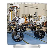 Mars Science Laboratory Rover Shower Curtain