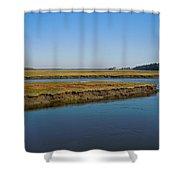 Marsh In Maine Shower Curtain