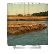 Marsh Of Pine Point Shower Curtain