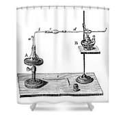 Marsh Test Apparatus, 1867 Shower Curtain by Science Source