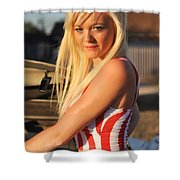 Marsha10 Shower Curtain