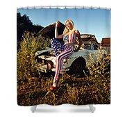 Marsha6 Shower Curtain
