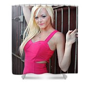 Marsha7 Shower Curtain