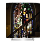 Martin Luther At Historic Zion Shower Curtain