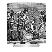Martyrdom: Saint Julian Shower Curtain by Granger