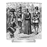 Mary Dyer, D.1660 Shower Curtain by Granger