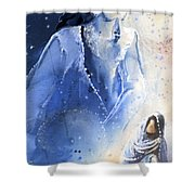 Mary Magdalene Shower Curtain by Miki De Goodaboom