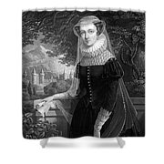 Mary Queen Of Scots Shower Curtain by Photo Researchers