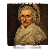 Mary Washington - First Lady  Shower Curtain
