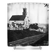 Maryland: Church, 1862 Shower Curtain