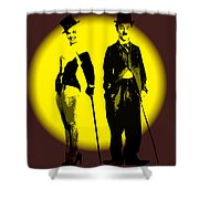 Marylin Loves Charlie Shower Curtain