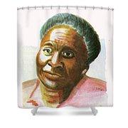 Maryse Conde Shower Curtain