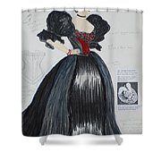 Masha From 'the Three Sisters' Shower Curtain