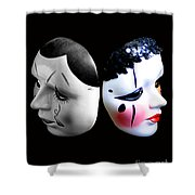 Mask Goodbye Shower Curtain