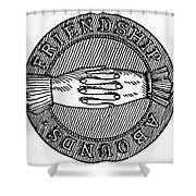 Masonic Symbol Shower Curtain