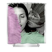 Masquerade Shower Curtain