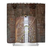 Massive Shiv Lingam Bhojpura Shower Curtain
