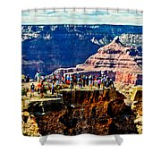 Mather Point Shower Curtain