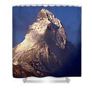Matterhorn Morning-2 Shower Curtain