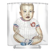 Matthew Shower Curtain by Brian Wallace