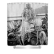 Matthew Henson, African-american Shower Curtain