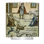 Matthew Hopkins (d. 1647) Shower Curtain