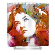 Maude Fealy Shower Curtain