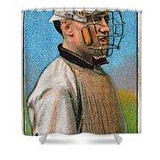 Maurice Riley Powers Shower Curtain