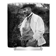 Max Weber 1864-1920 Shower Curtain