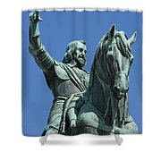 Maximilian Joseph Shower Curtain