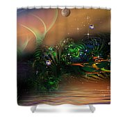 May Bee Shower Curtain