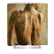 Maya Desnuda Shower Curtain